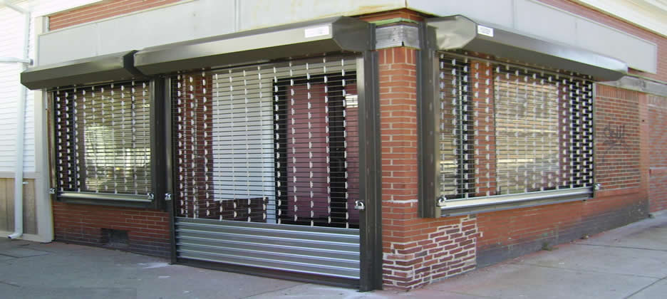 Retail Security Grills Manchester